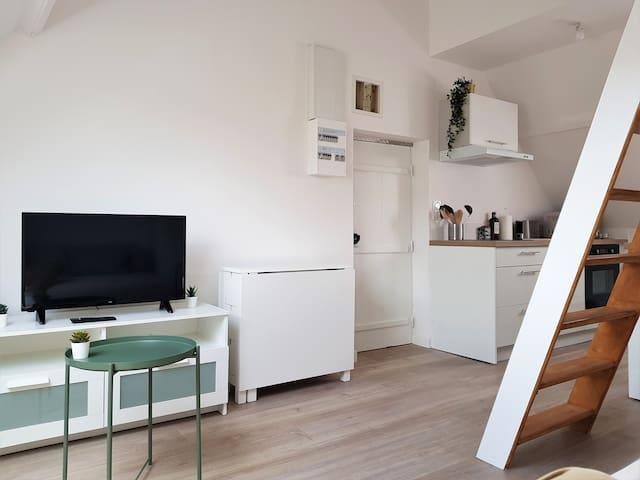 Appartement dans un quartier calme proche de Rouen