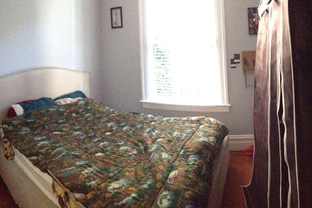 Bedroom two with queen.