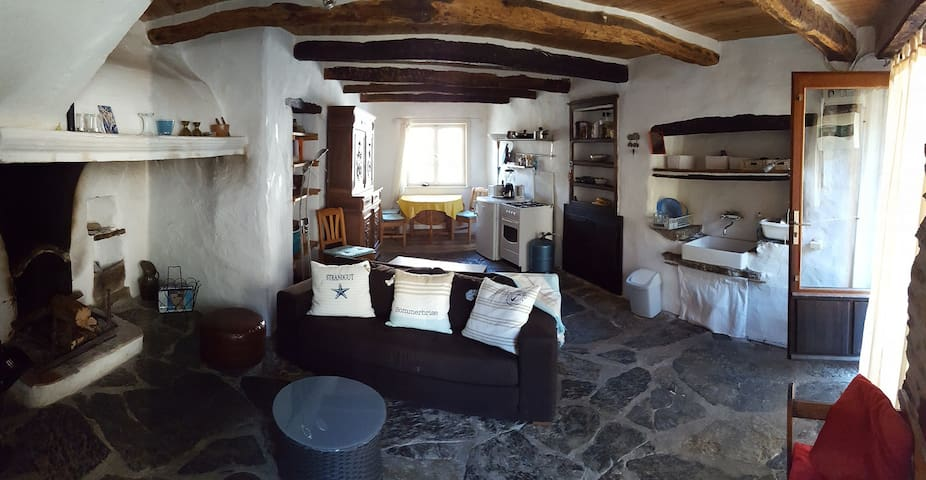 Charming 300 yrs. old stone cottage - Vieussan