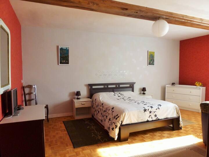 suite 2 personnes 35 m² en chambre d'hôtes