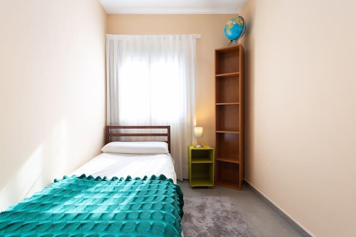 Mi habitación en la Pedrera