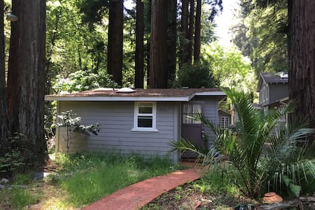 Lovely creek-side cottage - Larkspur - Bungalow