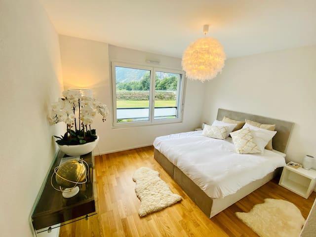 Bel appartement cosy tout équipé à Martigny