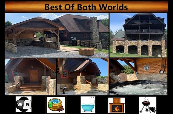 """Best Of Both Worlds"" - WiFi / Hot Tub / Jacuzzi Tub / Charcoal Grill"