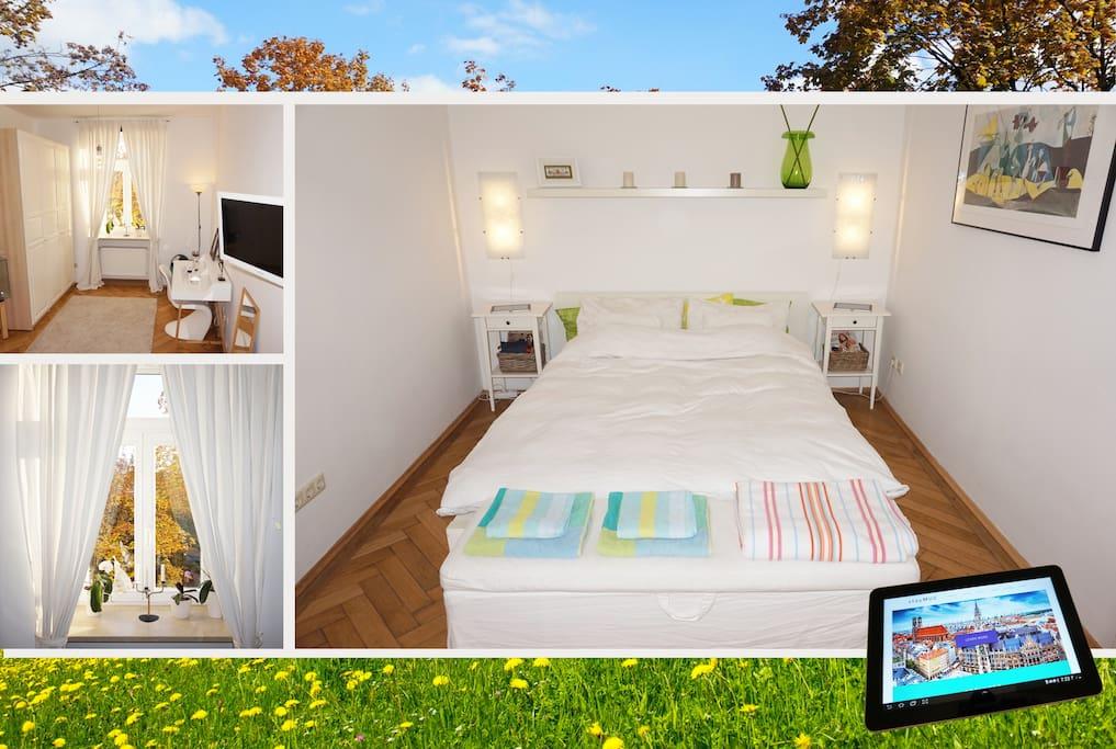 sch nes zimmer m nchen zentrum haidhausen au. Black Bedroom Furniture Sets. Home Design Ideas