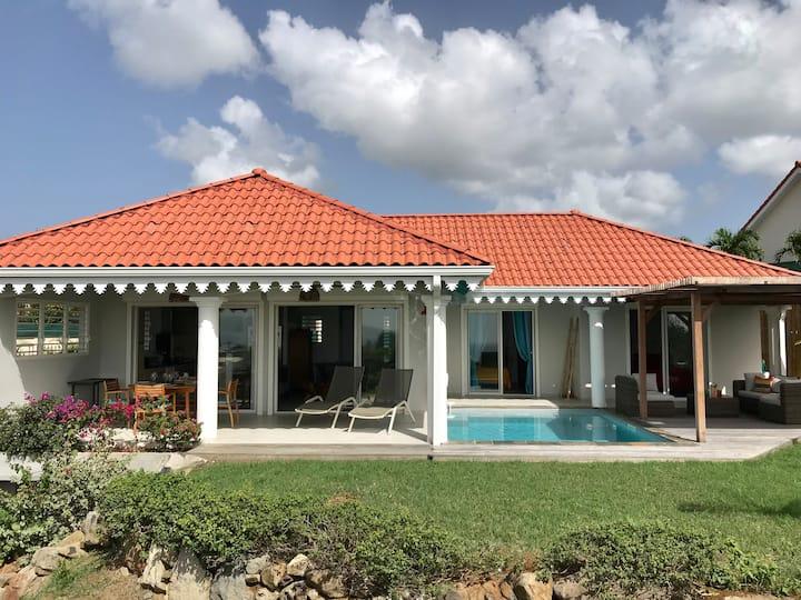 Belle villa standing 6 pers vue mer = TOP VACANCES