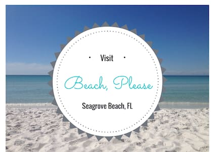 Beach, Please 30A Heart of Seagrove - 連棟住宅