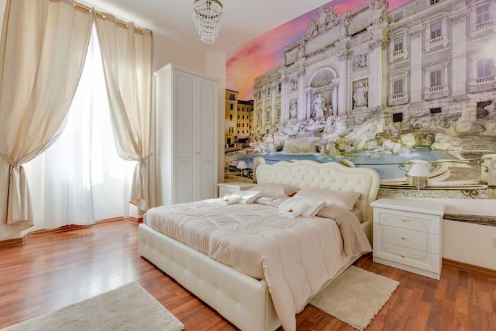 Room Fontana Trevi Near Station Termini - Roma - Flat