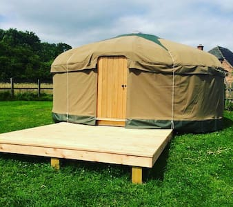 Off Grid, British made 18ft Yurt - Madeley