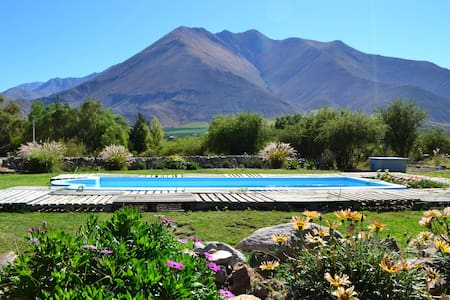 Cozy double room with a fantastic andes view - Vicuna