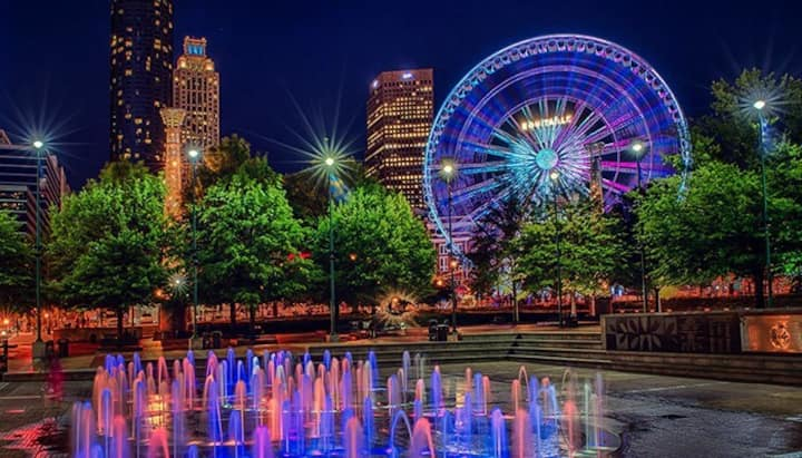 Luxury Condo downtown Centennial Olympic Park