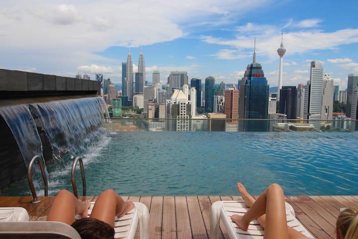 KLcity*Eco private room @KLCC view Infinity Pool
