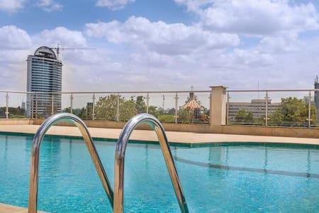 Westlands NBO Luxury Serviced 2BR/2Bath Apt w Pool - Nairobi