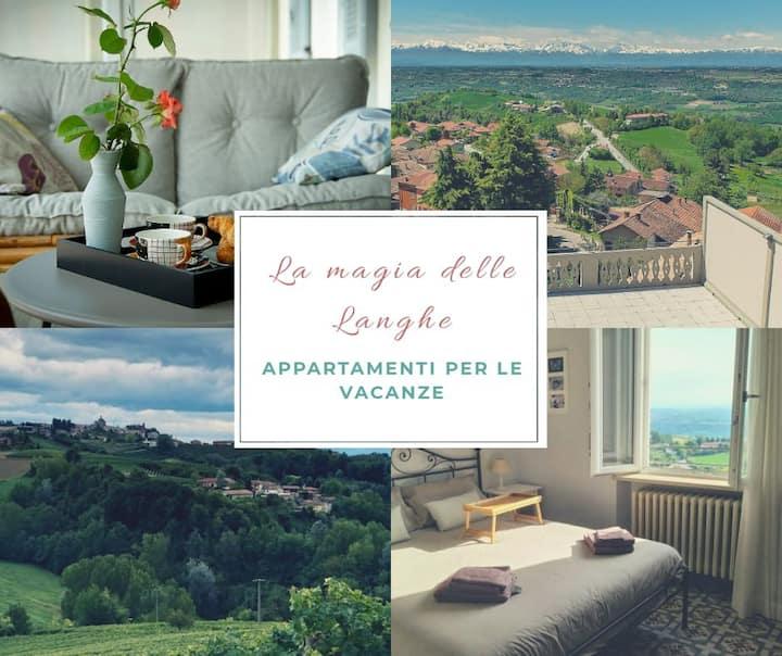 La magia delle Langhe- 2nd floor apartment