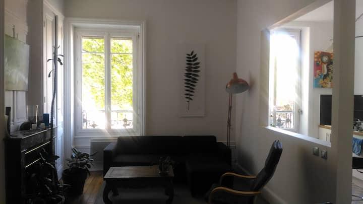 Appartement 1900 rénové proche Gare Part Dieu