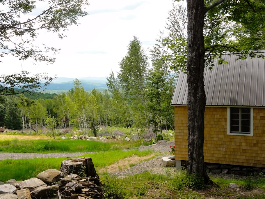 Looking from the Coop to Newfound Lake