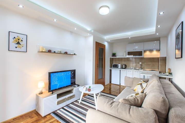 Newly Renovated, Modern Home In Budva - 1BR/1BA