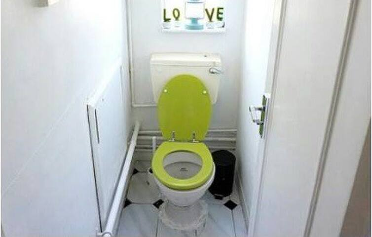 The shared, separate WC
