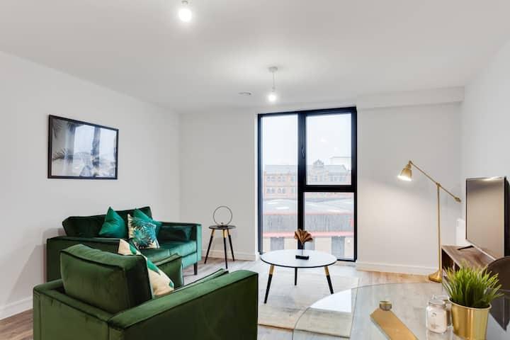 Stylish and Modern 1br flat in central Birmingham
