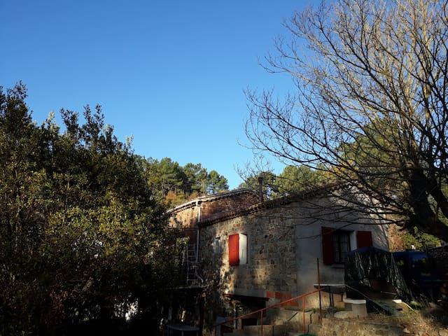 Villa Anduze plaine de Labahou