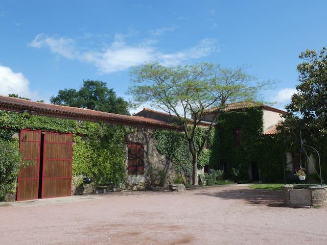 Appartement au coeur d'une propriété viticole