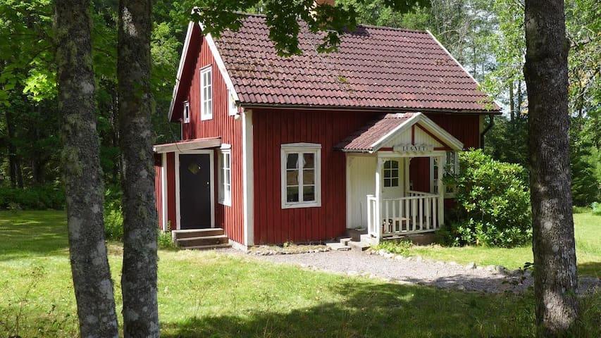 Lugnet - naturnära stuga i Småland