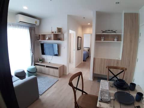 豪華公寓2臥室,山 查看關閉中央節日清邁。