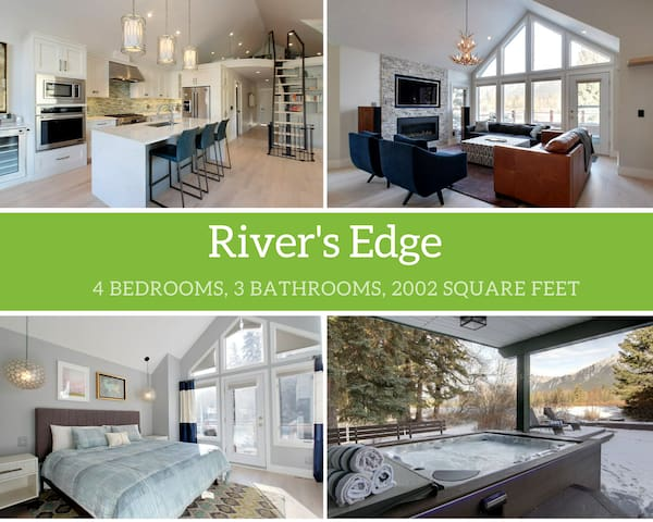 Rockies Rentals: Luxurious Home on Bow River