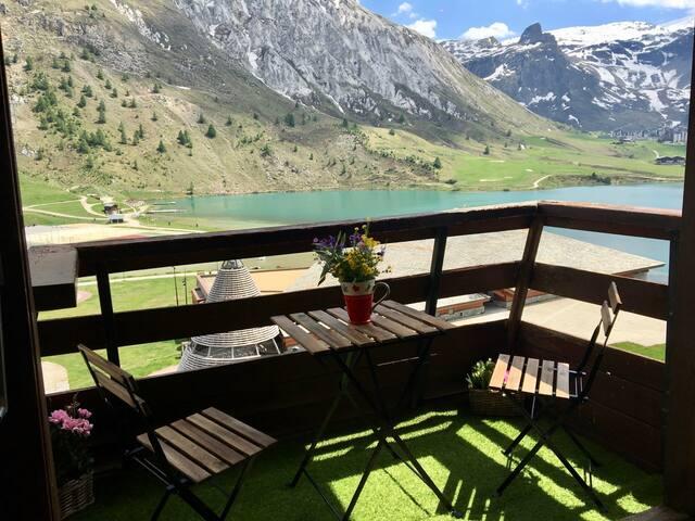 Grand studio 30m² classé 3* vue sur le lac