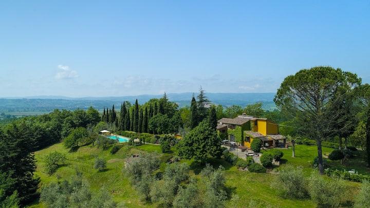 Podere Vigliano, Italian countryside living