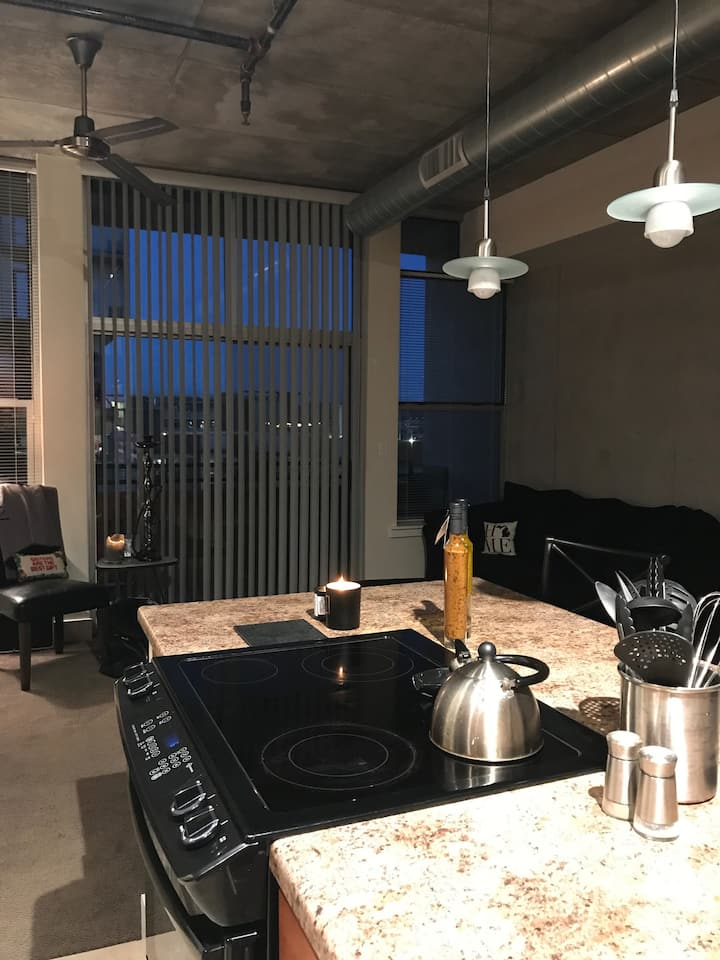 Downtown Phoenix Loft (no cleaning $)