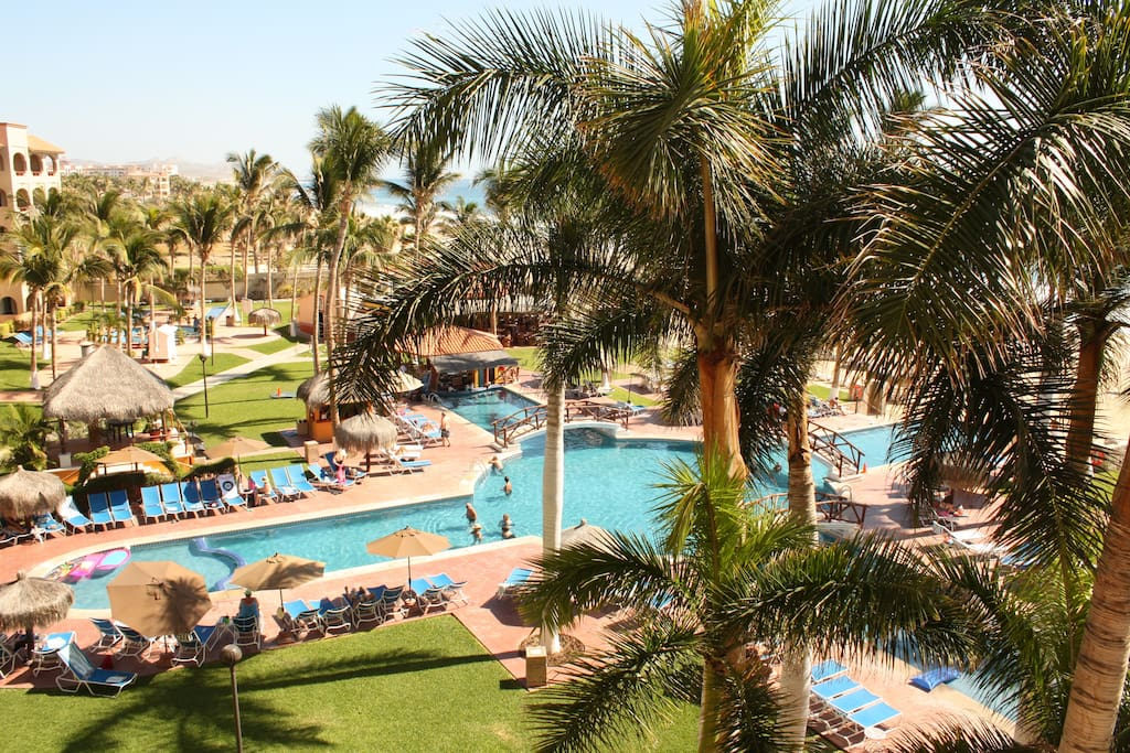 view of the resort from the 6th floor
