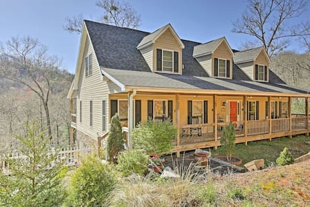 Private Smoky Mountain Home w/ Porch & Peak Views!