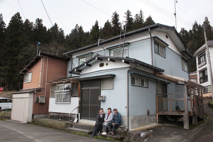 Int'l sharehouse in Snow Country! 5 min walk fm St