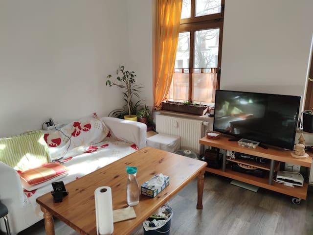 Helles Zimmer im Altbaustil aufm Kaßberg