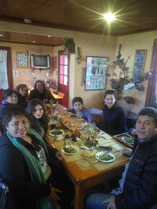 Almuerzos y Desayunos caseros