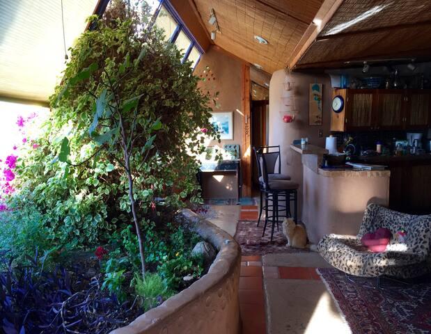 Sunny Taos Earthship