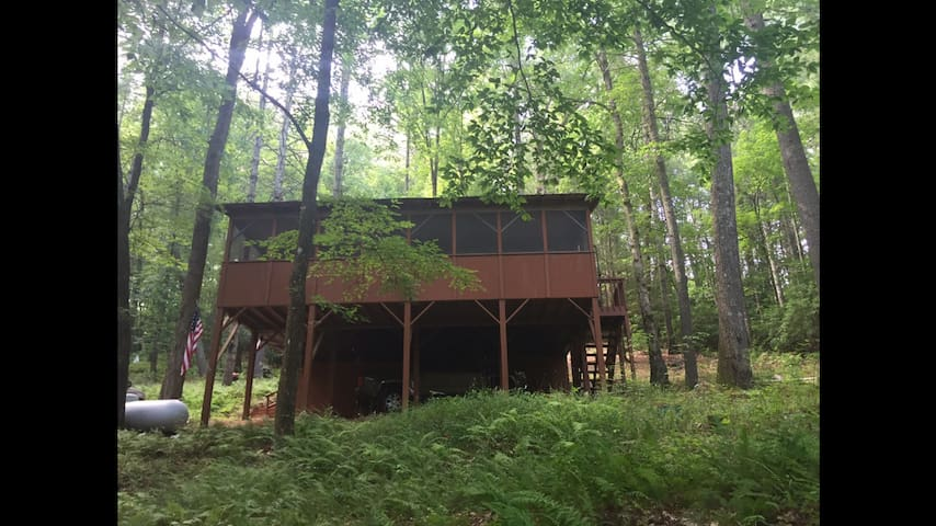 Toccoa Treehouse Cabin - Suches - House