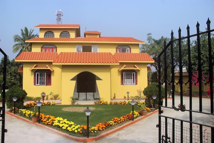 Enjoy this peaceful place at Shantiniketan