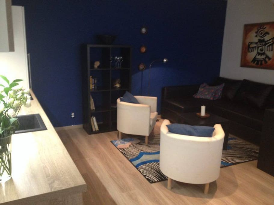 Modern two floor apartment in old town praque lofts for for Two floor apartment