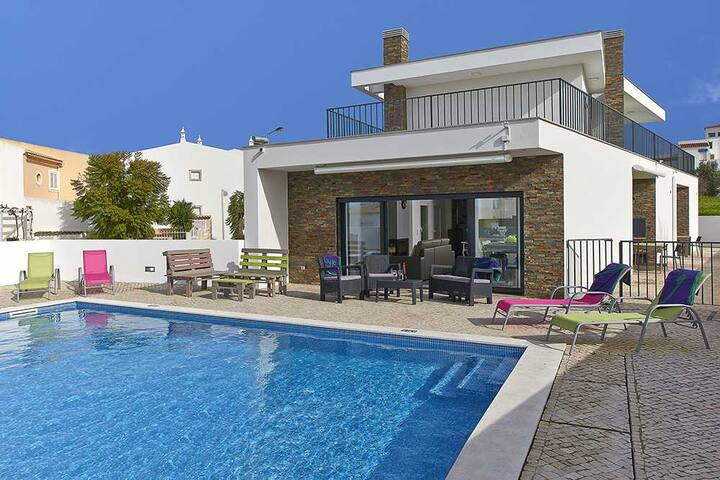 Villa Hill, modern villa with private pool - Pêra - Holiday home