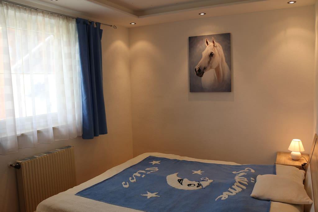 """Zimmer """"Blau"""""""