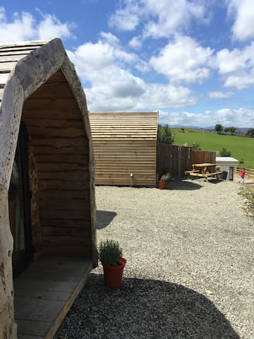 Farm glamping pods