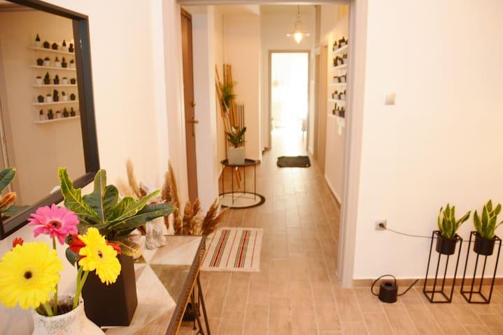Central Athens - warm apartment near metro station