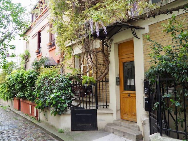 Appartement de charme, proche butte aux Cailles