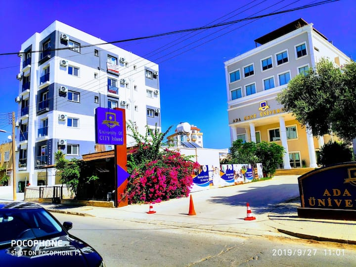 I STUDIO-LUX 2 Mins to Famagusta Center. CY. TRNC