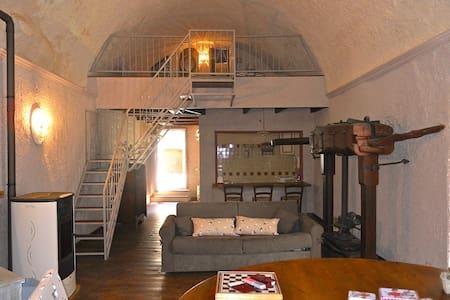 Antico Mulino in riva al torrente - Castelbianco - Huis