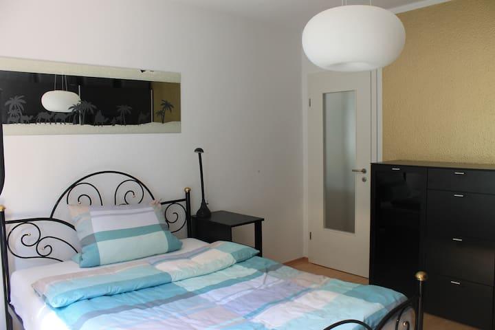 Cozy bedroom with bathroom in Trier