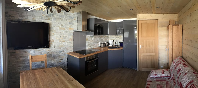 Belle Plagne 2050m Alt- Quartz T2 pour 6 personnes - Mâcot-la-Plagne - Apartment