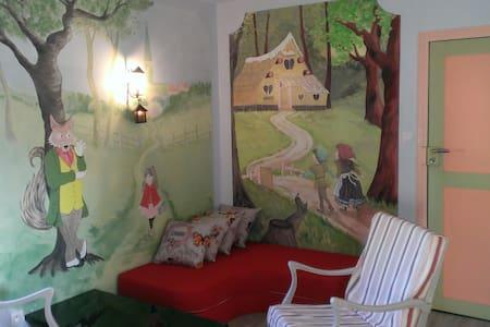 Appartement coquet climatisé 55 m² - Cruzy - Дом